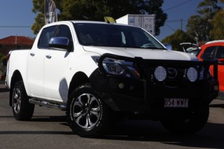 2016 Mazda BT-50 UR0YG1 XTR White 6 Speed Sports Automatic Utility.