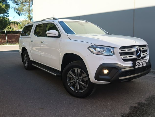 Used Mercedes-Benz X-Class 470 X250d 4MATIC Progressive Reynella, 2018 Mercedes-Benz X-Class 470 X250d 4MATIC Progressive White 6 Speed Manual Utility