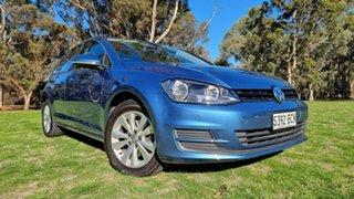 2014 Volkswagen Golf VII MY14 90TSI Comfortline Pacific Blue 6 Speed Manual Hatchback.