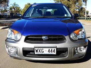 2003 Subaru Impreza S MY03 RV AWD Blue 4 Speed Automatic Hatchback.