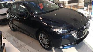 2021 Mazda 2 DJ2HAA G15 SKYACTIV-Drive Evolve Deep Crystal Blue 6 Speed Sports Automatic Hatchback.