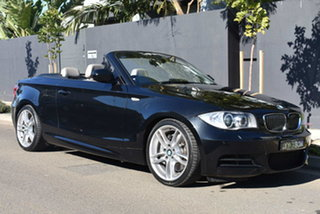 2010 BMW 1 Series E88 MY11 135i D-CT Grey 7 Speed Sports Automatic Dual Clutch Convertible