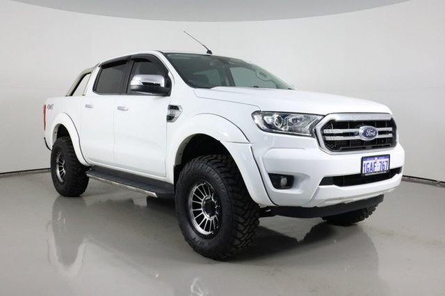 Used Ford Ranger PX MkII XLT 3.2 (4x4) Bentley, 2015 Ford Ranger PX MkII XLT 3.2 (4x4) White 6 Speed Automatic Double Cab Pick Up