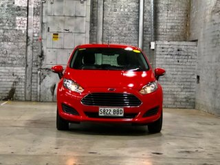 2014 Ford Fiesta WZ Ambiente Red 5 Speed Manual Hatchback.