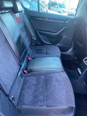 2017 Skoda Octavia NE MY18 RS Sedan DSG 245 White 7 Speed Sports Automatic Dual Clutch Liftback