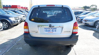2001 Mazda Tribute Limited Silver 4 Speed Automatic Wagon