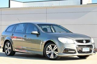 2014 Holden Commodore VF MY15 SV6 Sportwagon Grey 6 Speed Sports Automatic Wagon.