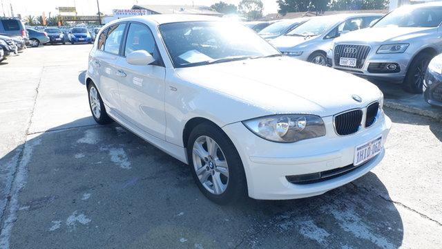 Used BMW 118i E87 MY09 118i St James, 2009 BMW 118i E87 MY09 118i White 6 Speed Automatic Hatchback