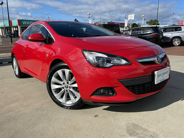 Used Holden Astra PJ GTC Victoria Park, 2015 Holden Astra PJ GTC Red 6 Speed Automatic Hatchback