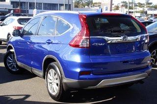 2013 Honda CR-V RM MY14 VTi Blue 5 Speed Automatic Wagon.
