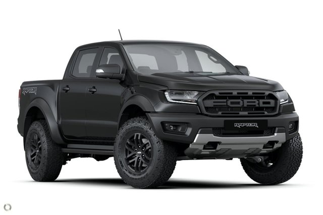 New Ford Ranger PX MkIII 2021.25MY Raptor Oakleigh, 2021 Ford Ranger PX MkIII 2021.25MY Raptor Black 10 Speed Sports Automatic Double Cab Pick Up