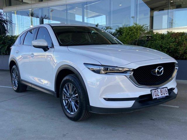 Used Mazda CX-5 Beaudesert, 2018 Mazda CX-5 White Wagon
