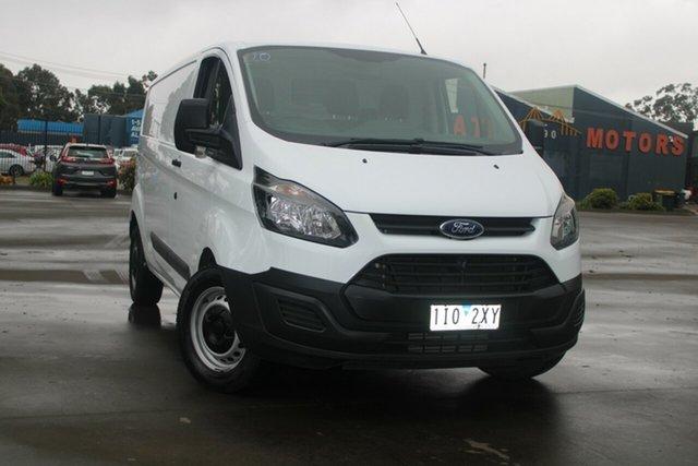 Used Ford Transit Custom VN MY16.75 330L (LWB) West Footscray, 2016 Ford Transit Custom VN MY16.75 330L (LWB) White 6 Speed Manual Van