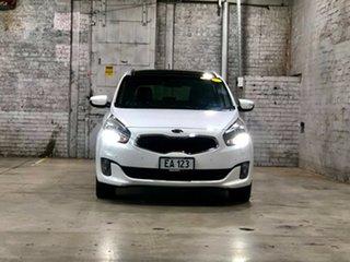 2014 Kia Rondo RP MY14 Platinum White 6 Speed Sports Automatic Wagon.