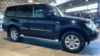 2011 Mitsubishi Pajero NT MY11 30th Anniversary Black 5 Speed Sports Automatic Wagon.