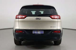 2014 Jeep Cherokee KL Sport (4x2) Champagne 9 Speed Automatic Wagon