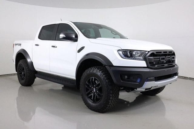 Used Ford Ranger PX MkIII MY19 Raptor 2.0 (4x4) Bentley, 2019 Ford Ranger PX MkIII MY19 Raptor 2.0 (4x4) White 10 Speed Automatic Double Cab Pick Up