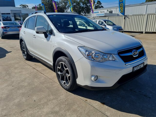 Used Subaru XV G4X MY12 2.0i-L Lineartronic AWD Glendale, 2012 Subaru XV G4X MY12 2.0i-L Lineartronic AWD White 6 Speed Constant Variable Wagon