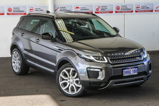 Pre-Owned Land Rover Range Rover Evoque LV MY17 TD4 180 SE Myaree, 2017 Land Rover Range Rover Evoque LV MY17 TD4 180 SE Grey 9 Speed Automatic Wagon