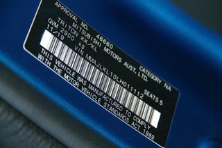 2019 Mitsubishi Triton MR MY20 GLS Double Cab Premium Blue 6 Speed Sports Automatic Utility