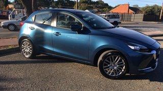 2021 Mazda 2 DJ2HAA G15 SKYACTIV-Drive GT Eternal Blue 6 Speed Sports Automatic Hatchback.