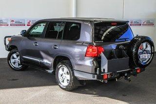 2012 Toyota Landcruiser VDJ200R MY12 Sahara (4x4) Graphite 6 Speed Automatic Wagon.