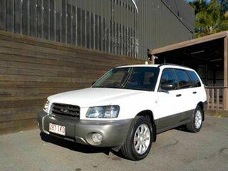 2004 Subaru Forester 79V MY05 XS AWD White 4 Speed Automatic Wagon