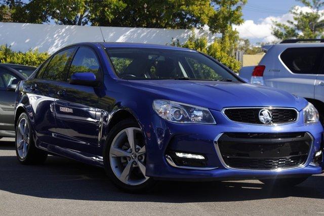 Used Holden Commodore VF MY15 SV6 Mount Gravatt, 2015 Holden Commodore VF MY15 SV6 Blue 6 Speed Sports Automatic Sedan