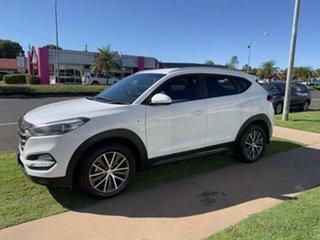 2016 Hyundai Tucson Pure White 6 Speed Automatic Wagon.