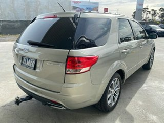 2011 Ford Territory SZ Titanium Seq Sport Shift AWD Silver 6 Speed Sports Automatic Wagon