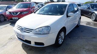 2008 Volkswagen Golf V MY08 Edition DSG White 6 Speed Sports Automatic Dual Clutch Hatchback.