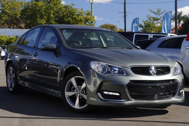 Used Holden Commodore VF II MY16 SV6 Mount Gravatt, 2016 Holden Commodore VF II MY16 SV6 Grey 6 Speed Sports Automatic Sedan