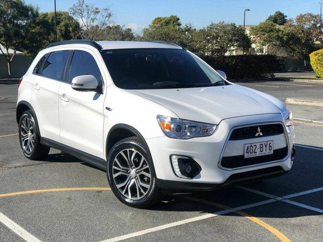 Used Mitsubishi ASX XB MY15.5 LS 2WD Chermside, 2015 Mitsubishi ASX XB MY15.5 LS 2WD White 6 Speed Constant Variable Wagon