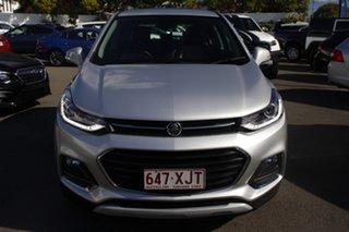 2017 Holden Trax TJ MY17 LTZ Silver 6 Speed Automatic Wagon.