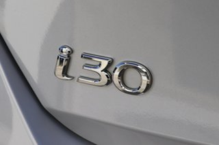 2016 Hyundai i30 GD4 Series II MY17 Active Platinum Silver 6 Speed Sports Automatic Hatchback