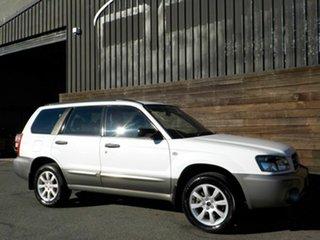 2004 Subaru Forester 79V MY05 XS AWD White 4 Speed Automatic Wagon.