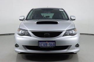 2008 Subaru Impreza MY08 WRX (AWD) Silver 5 Speed Manual Hatchback.