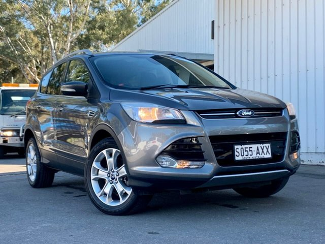 Used Ford Kuga TF Trend AWD Clare, 2013 Ford Kuga TF Trend AWD Grey 6 Speed Sports Automatic Wagon