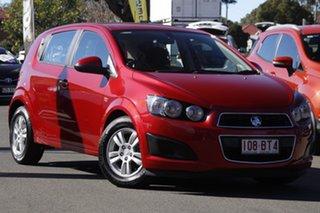 2011 Holden Barina TM Red 5 Speed Manual Hatchback.