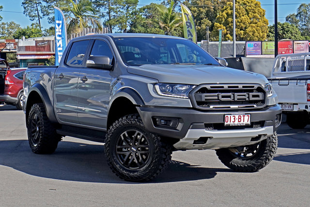 Used Ford Ranger PX MkIII 2019.00MY Raptor Chandler, 2019 Ford Ranger PX MkIII 2019.00MY Raptor Grey 10 Speed Sports Automatic Double Cab Pick Up