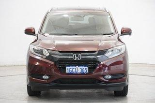 2016 Honda HR-V MY16 VTi-L Red 1 Speed Constant Variable Hatchback.