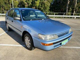 1995 Toyota Corolla AE101R CSi Seca Blue 4 Speed Automatic Liftback.