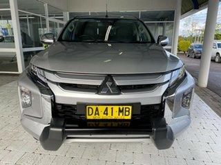 2019 Mitsubishi Triton GLS - Premium Silver Sports Automatic Dual Cab Utility.