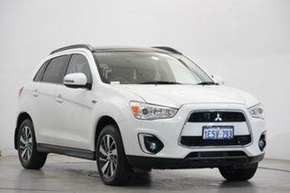 2015 Mitsubishi ASX XB MY15 XLS White 6 Speed Sports Automatic Wagon