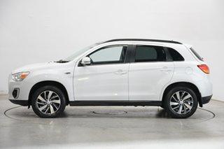 2015 Mitsubishi ASX XB MY15 XLS White 6 Speed Sports Automatic Wagon.