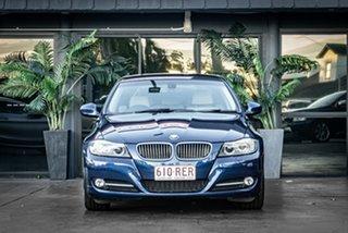 2010 BMW 3 Series E90 MY10 320d Steptronic Executive Blue 6 Speed Sports Automatic Sedan.