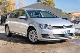 2014 Volkswagen Golf VII MY14 90TSI DSG Silver 7 Speed Sports Automatic Dual Clutch Hatchback.