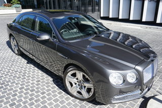 2013 Bentley Flying Spur 3W No Badge Anthracite Grey 8 Speed Sports Automatic Sedan.