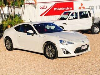 2012 Toyota 86 ZN6 GT Pegasus White 6 Speed Manual Coupe.