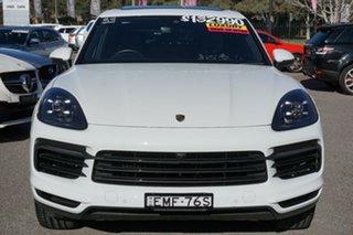 2019 Porsche Cayenne 9YA MY19 Tiptronic White 8 Speed Sports Automatic Wagon.